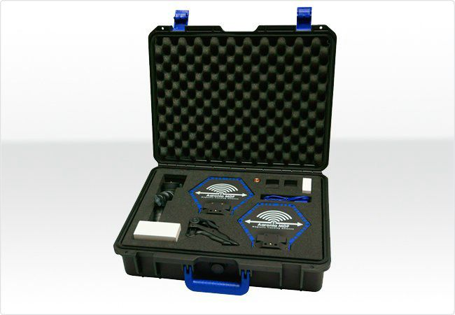 Included Transport case with optional available accessories